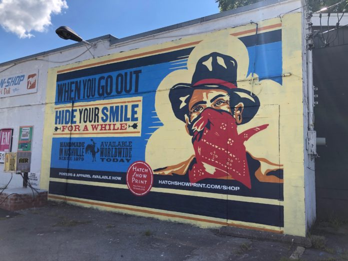 Hide Your Smile Mural