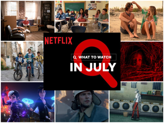 Everything Coming to Netflix in July 2021